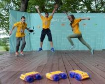 Фестиваль робототехники в Орленке. Волонтеры РоботоБУМа