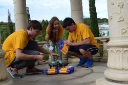 Волонтеры РоботоБУМа в Орленке