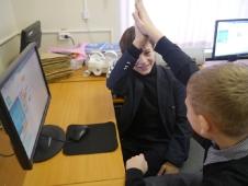 Занятия в кабинете информатики